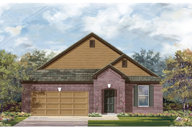 New Homes in Lockhart, TX - Plan A-2089 B