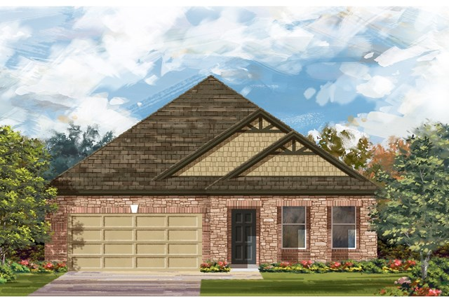 New Homes in Lockhart, TX - Plan A-2089 C