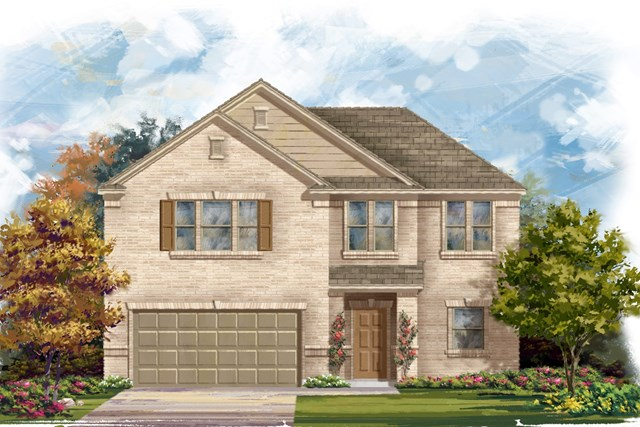 New Homes in Lockhart, TX - Plan A-2183 A