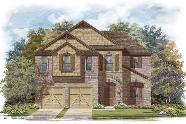 New Homes in Lockhart, TX - Plan A-2183 C