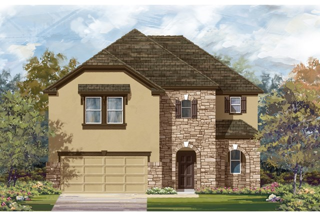 New Homes in Lockhart, TX - Plan A-2183 D