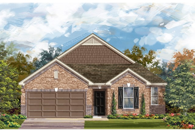 New Homes in Lockhart, TX - Plan A-2382 C