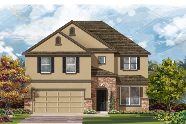 New Homes in Lockhart, TX - Plan A-2469 D