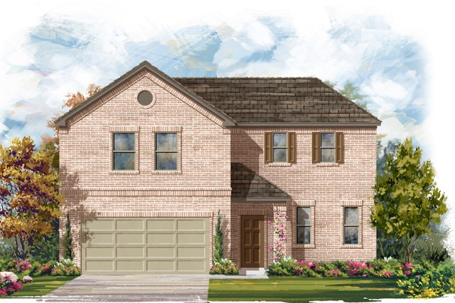 New Homes in Lockhart, TX - Plan A-2502 A