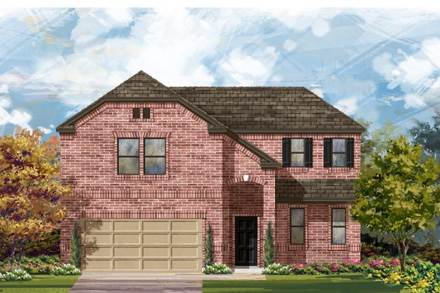 New Homes in Lockhart, TX - Plan A-2502 B