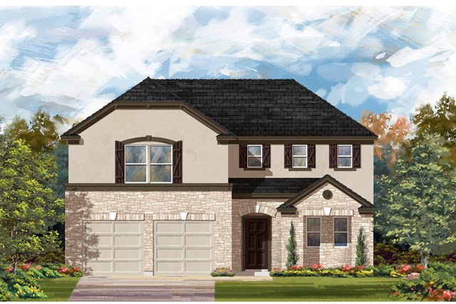 New Homes in Lockhart, TX - Plan A-2502 D