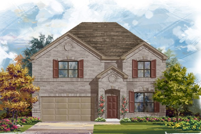 New Homes in Lockhart, TX - Plan A-2755 A