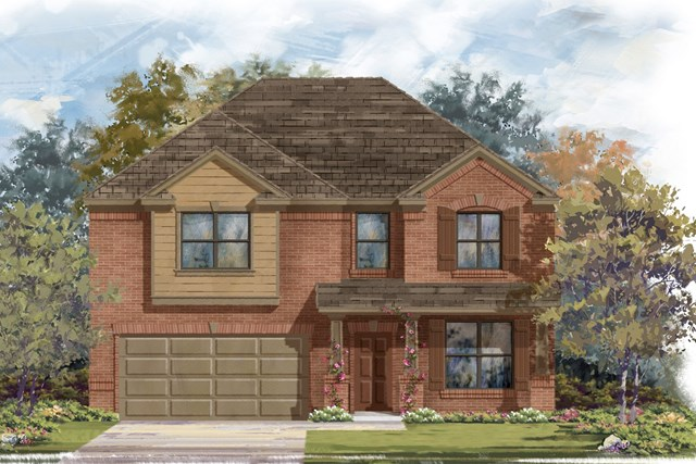New Homes in Lockhart, TX - Plan A-2755 B