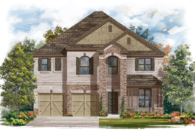 New Homes in Lockhart, TX - Plan A-2755 C