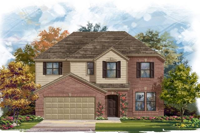 New Homes in Lockhart, TX - Plan A-2797 A