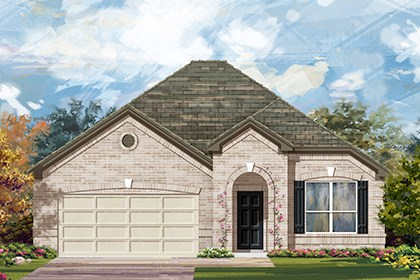 New Homes in Georgetown, TX - Plan A-1792 B