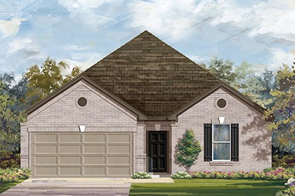 New Homes in Georgetown, TX - Plan A-2382 B
