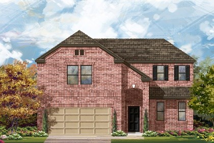 New Homes in Liberty Hill, TX - Plan A-2502 B