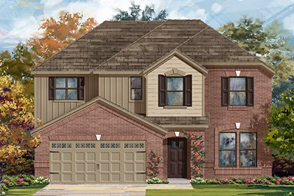 New Homes in Georgetown, TX - Plan A-2797 A