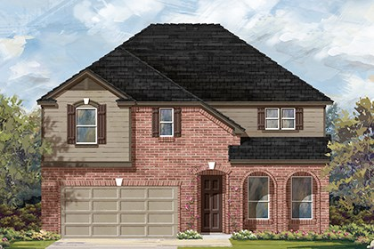 New Homes in Georgetown, TX - Plan A-3023 B