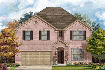 New Homes in Liberty Hill, TX - Plan A-3125 A