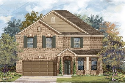 New Homes in Liberty Hill, TX - Plan A-3125 B