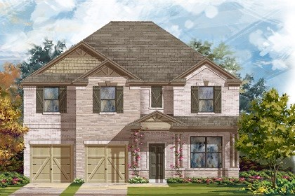 New Homes in Liberty Hill, TX - Plan A-3125 C