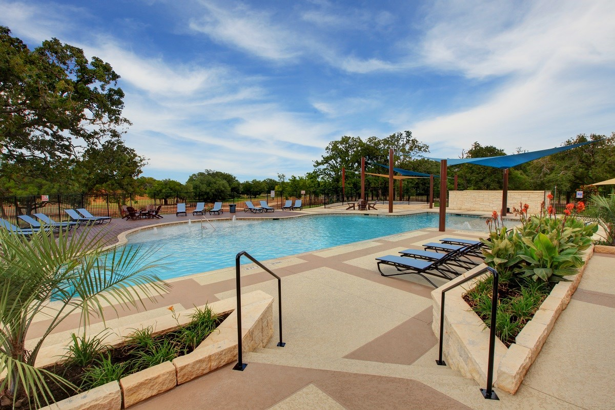 New Homes in Georgetown, TX - MorningStar Community Pool