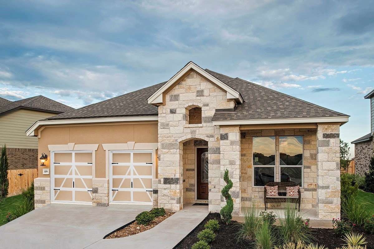 New Homes in Liberty Hill, TX - MorningStar Plan A-2089