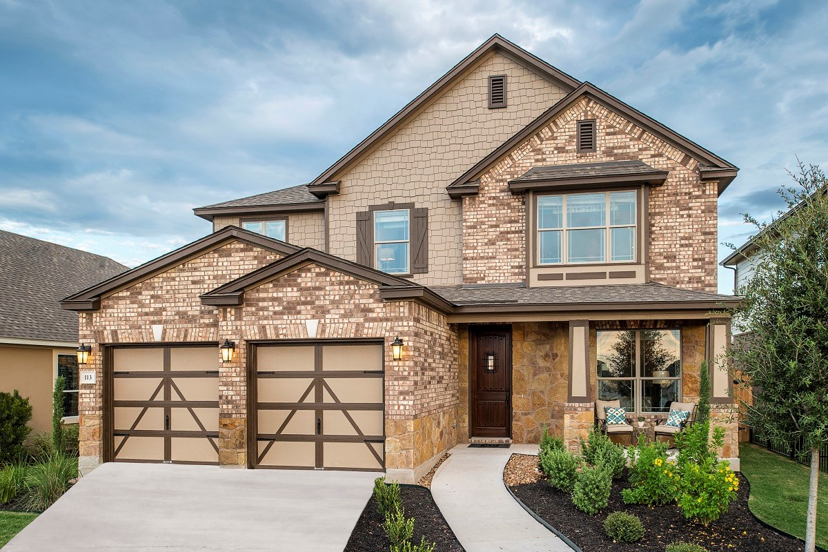 New Homes in Liberty Hill, TX - MorningStar Plan A-2797