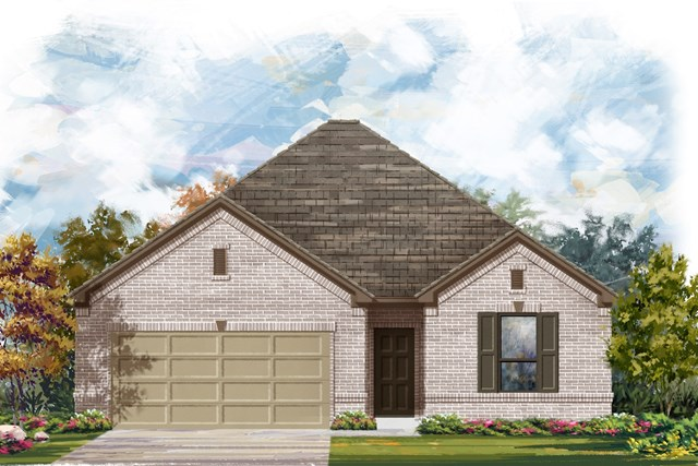 New Homes in Austin, TX - Plan 1675 A