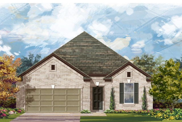 New Homes in Austin, TX - Plan 1965 A