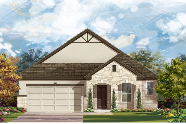 New Homes in Austin, TX - Plan 1996 D