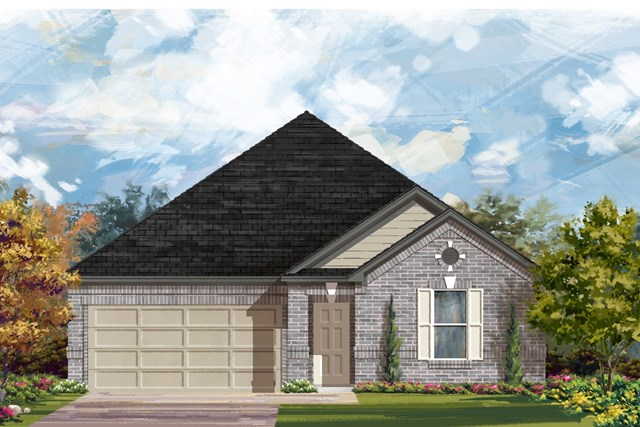 New Homes in Austin, TX - Plan 2382 A