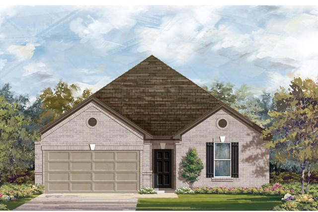 New Homes in Austin, TX - Plan 2382 B