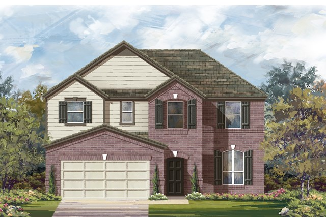 New Homes in Austin, TX - Plan A 2797 B
