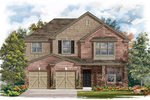 New Homes in Austin, TX - Plan A 2797 C