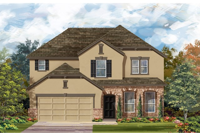 New Homes in Austin, TX - Plan A 2797 D
