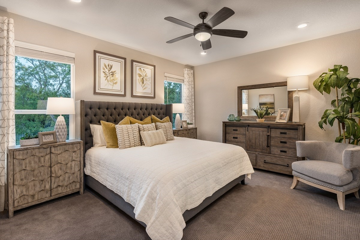 New Homes in Austin, TX - Northridge Park Plan 1491 Master Bedroom