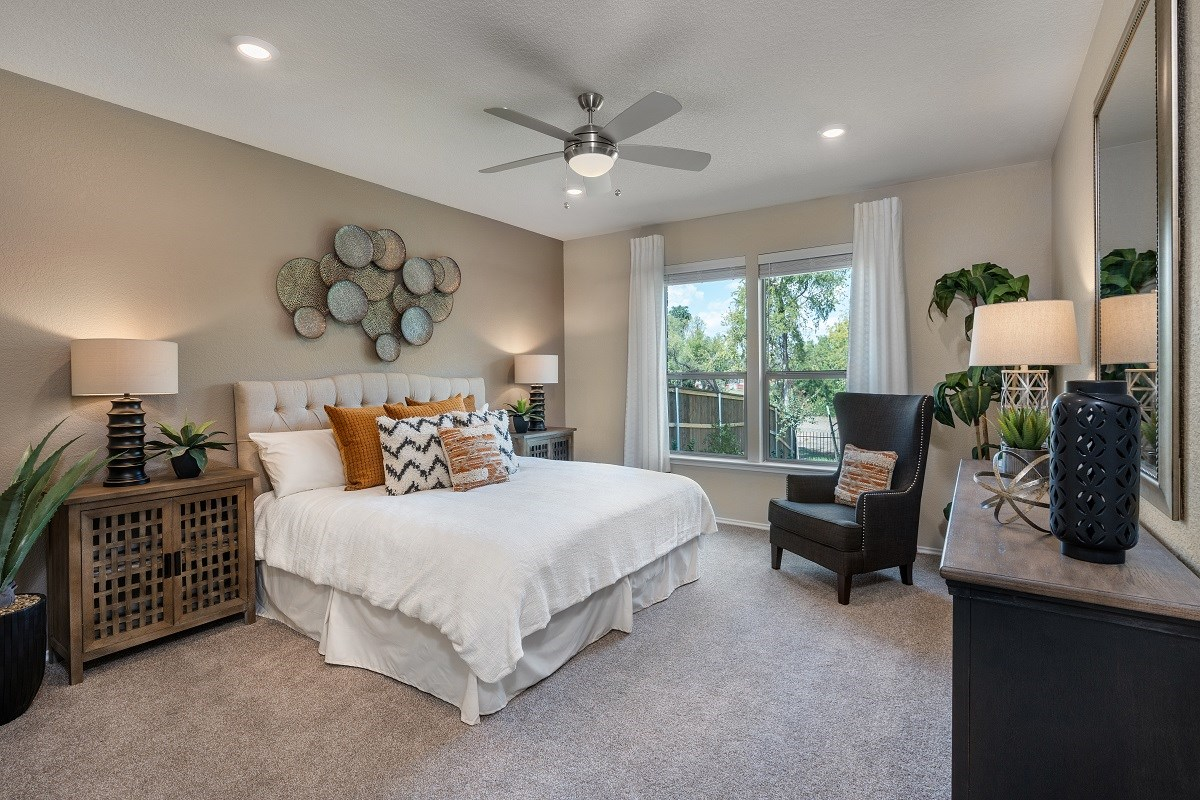 New Homes in Austin, TX - Northridge Park Plan 2502 Master Bedroom
