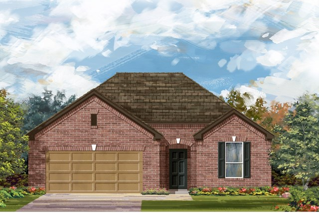 New Homes in Austin, TX - Plan A-1792 A