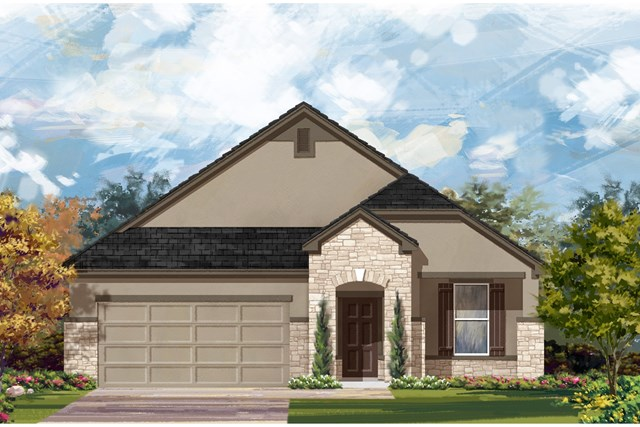 New Homes in Austin, TX - Plan A-1792 D
