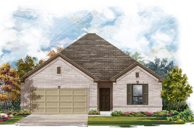 New Homes in Austin, TX - Plan A-1675 A