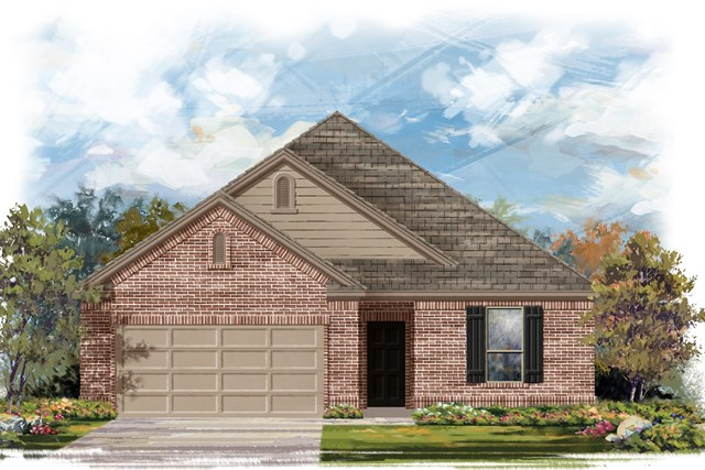 New Homes in Austin, TX - Plan A-1675 B