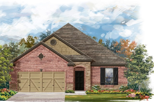 New Homes in Austin, TX - Plan A-1675 C