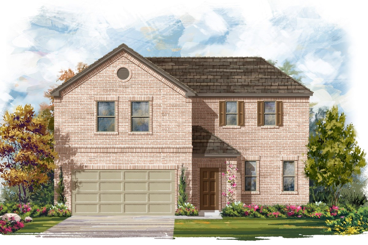 New Homes in Austin, TX - Northridge Park Plan A-2502 A