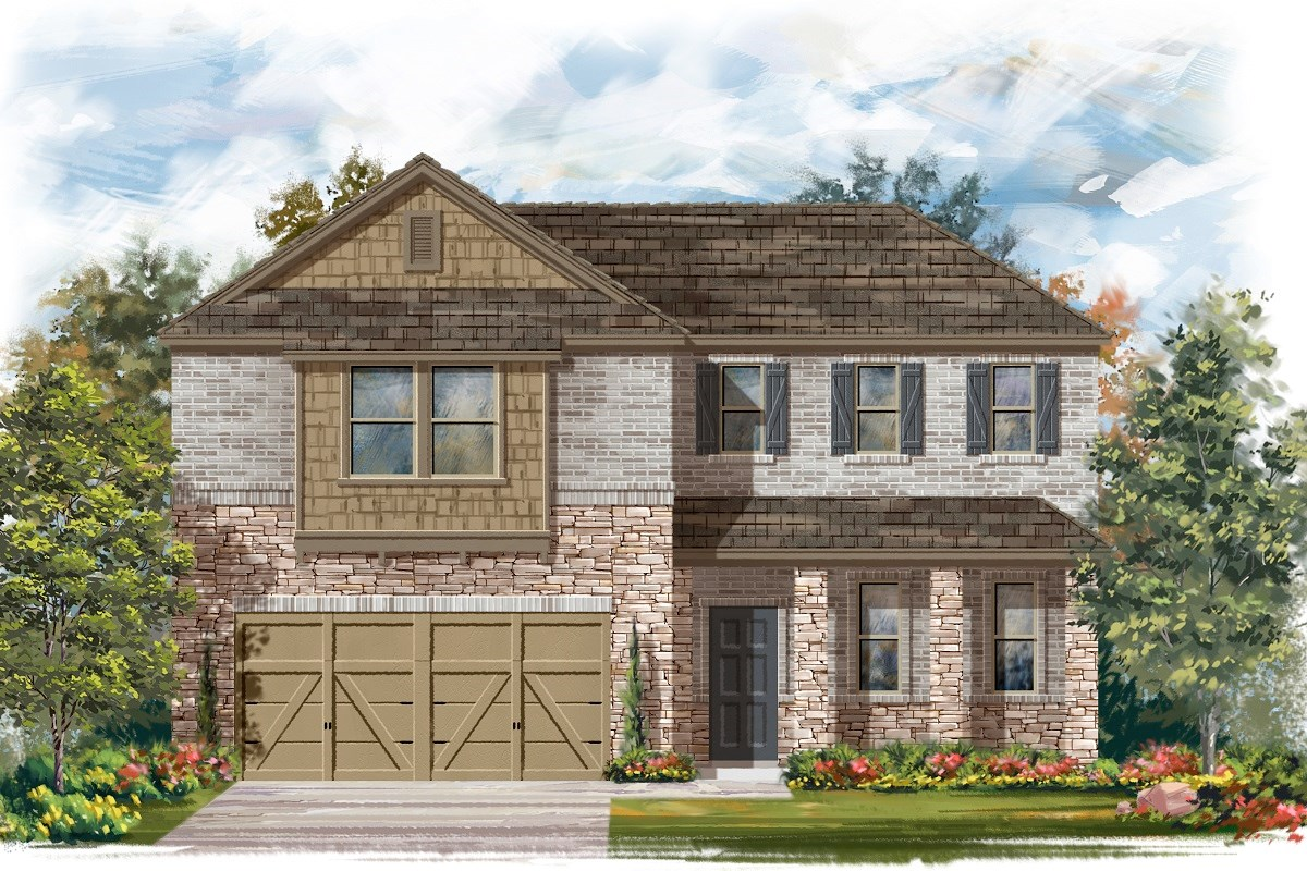 New Homes in Austin, TX - Northridge Park Plan A-2502 C