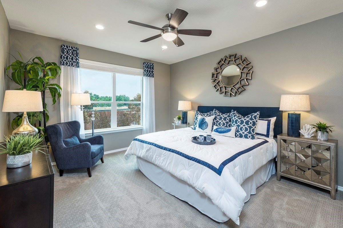 New Homes in Austin, TX - Northridge Park Plan A-1675 Master Bedroom