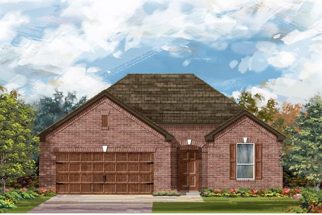 New Homes in Georgetown, TX - Plan 1792 A