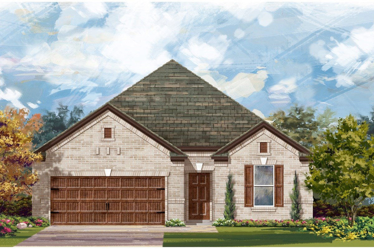 New Homes in Georgetown, TX - Oakmont Plan 1965