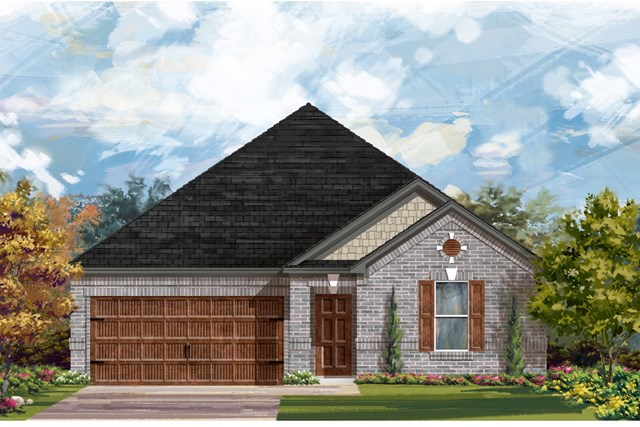New Homes in Georgetown, TX - Plan 2382 A