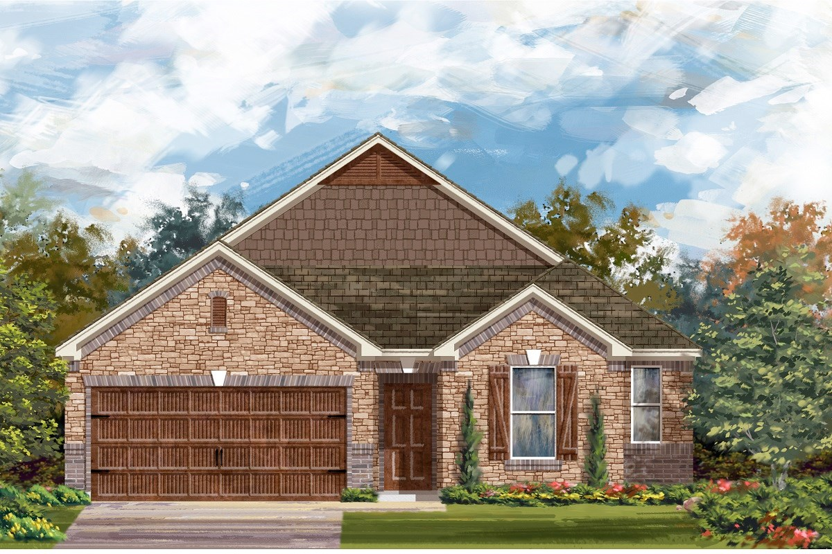 New Homes in Georgetown, TX - Oakmont Plan 2382