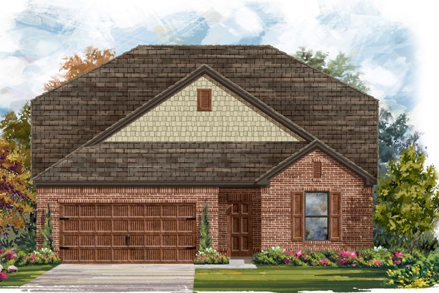 New Homes in Georgetown, TX - Plan 2655 A