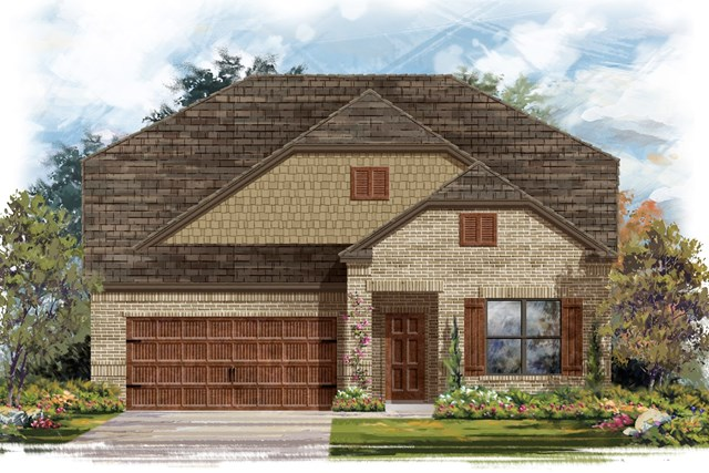 New Homes in Georgetown, TX - Plan 2655 B