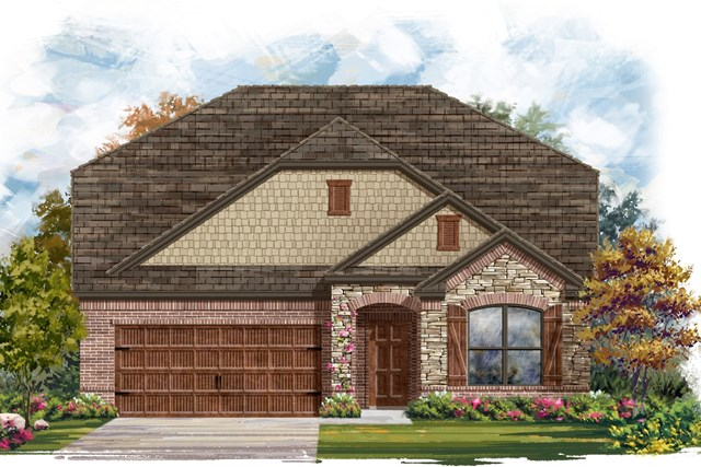 New Homes in Georgetown, TX - Plan 2655 C